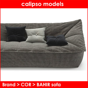 3d max category cor bahir sofa