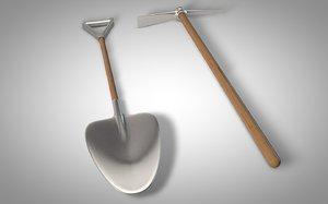 3ds max pick shovel