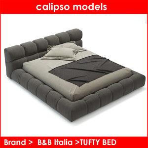 b italia tufty bed max