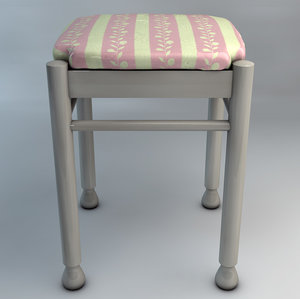 3d chair grandma s model