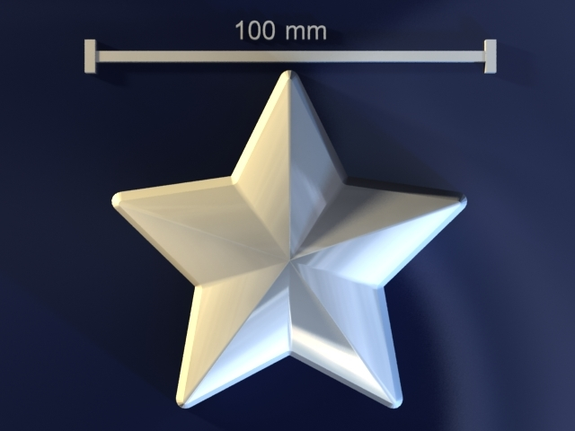 star mold hand 3d model