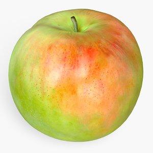 3d apple model