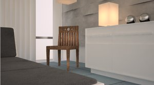architecture interior house c4d