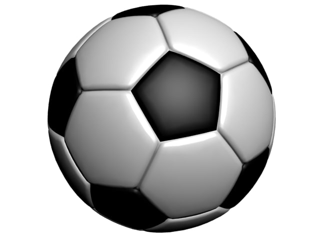 soccer football ball 3d 3ds