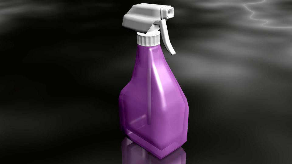 maya bottle spray