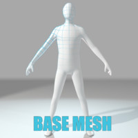 Humanoid Base Mesh