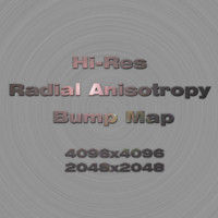 Radial Anisotropy Bump Maps