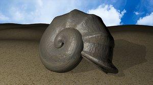 snail shell dxf