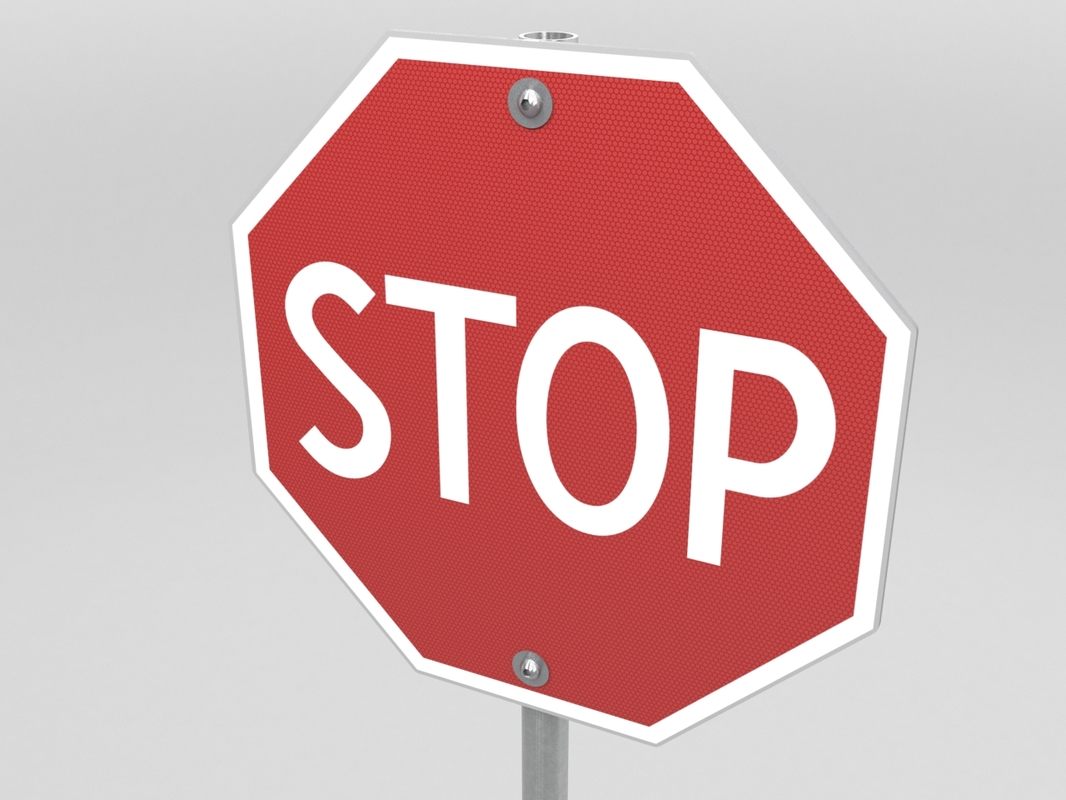 stop sign max