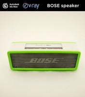 3d speaker modeled model