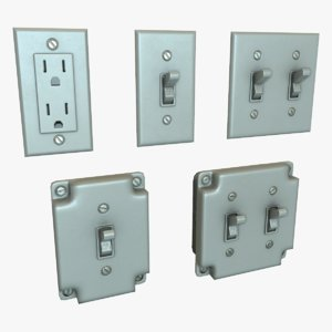 3d pack switches outlets