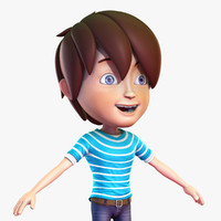 Cartoon Boy No Rig