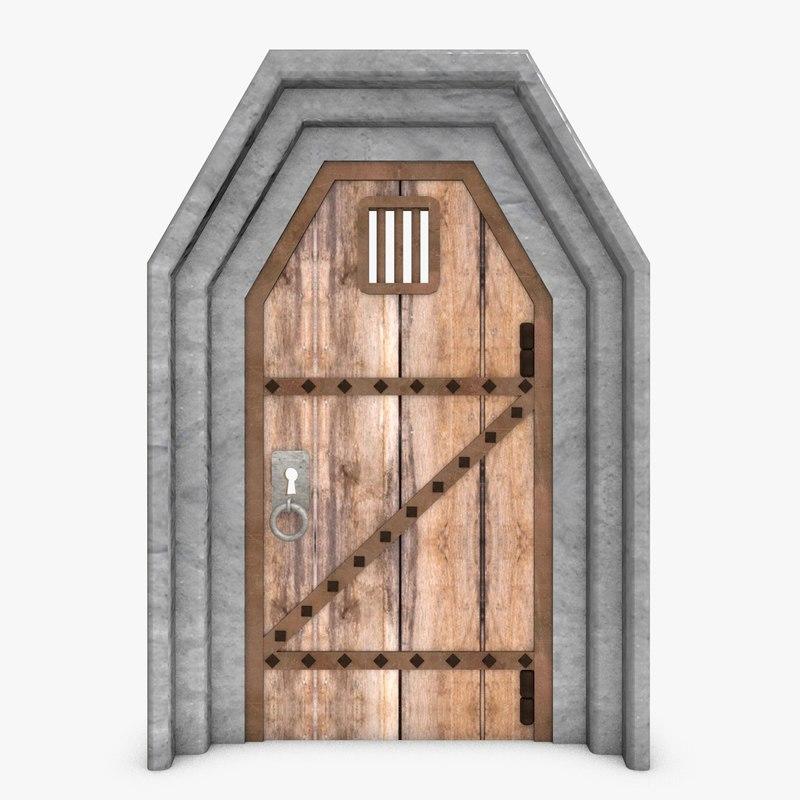 3ds door fantasy architecture