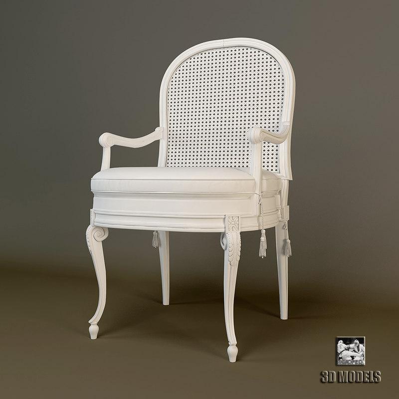3d salda vintage chair