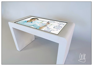 touch-screen table 3d model