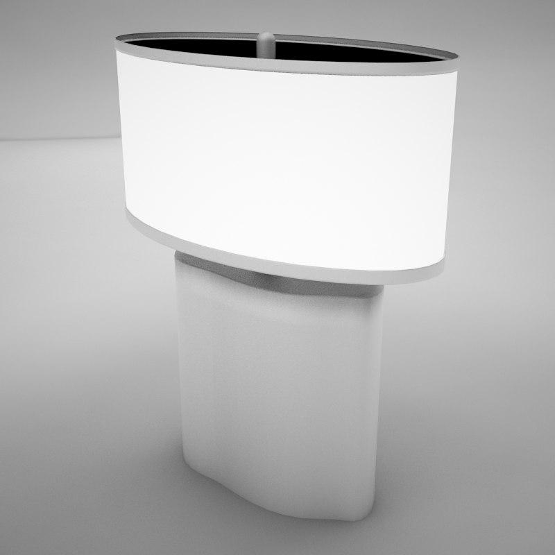 3ds lamp scene