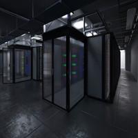 data center 3d model