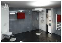 3d bath room model