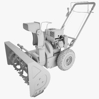snow blower power 3d max