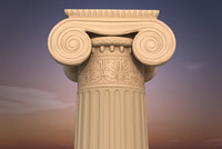 3ds max antique greek order column