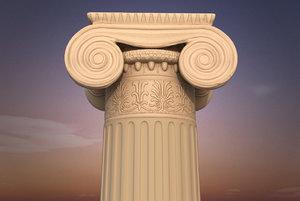 3ds max antique greek order column