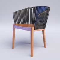 3d mood arm chair