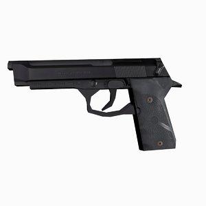 free beretta weapon 3d model