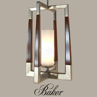 baker - moderne lantern 3d model