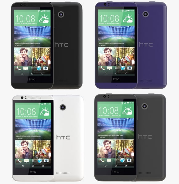 htc desire 510 color 3d 3ds