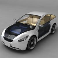 3d future car