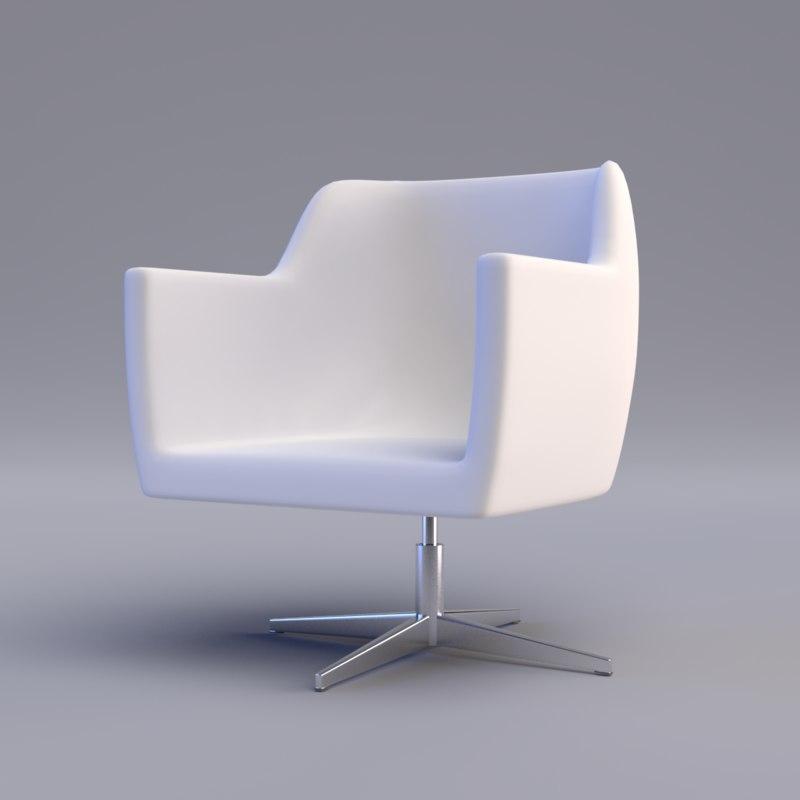 3ds revolving chair
