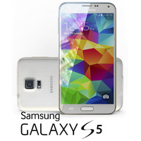 3ds max samsung galaxy s5 white
