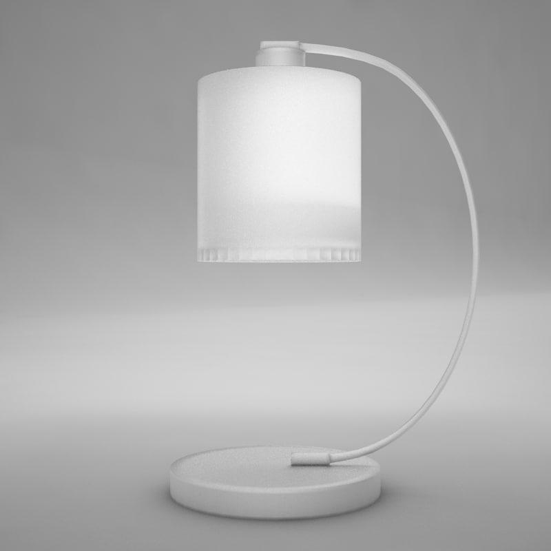 maya wall lamp object