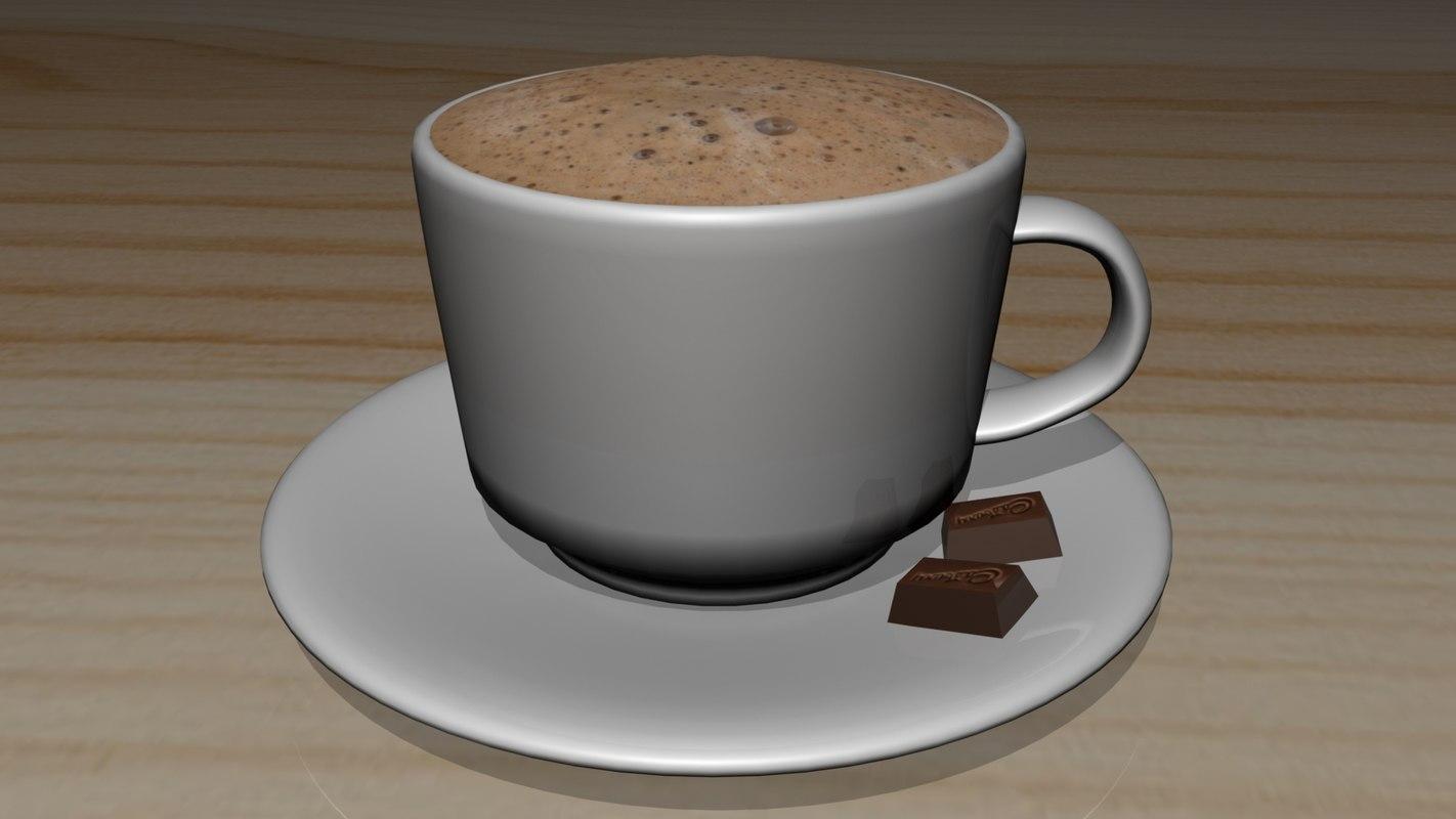 maya hot chocolate cup coffee