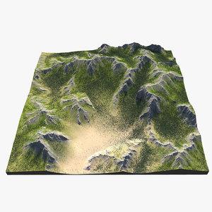mountain range max