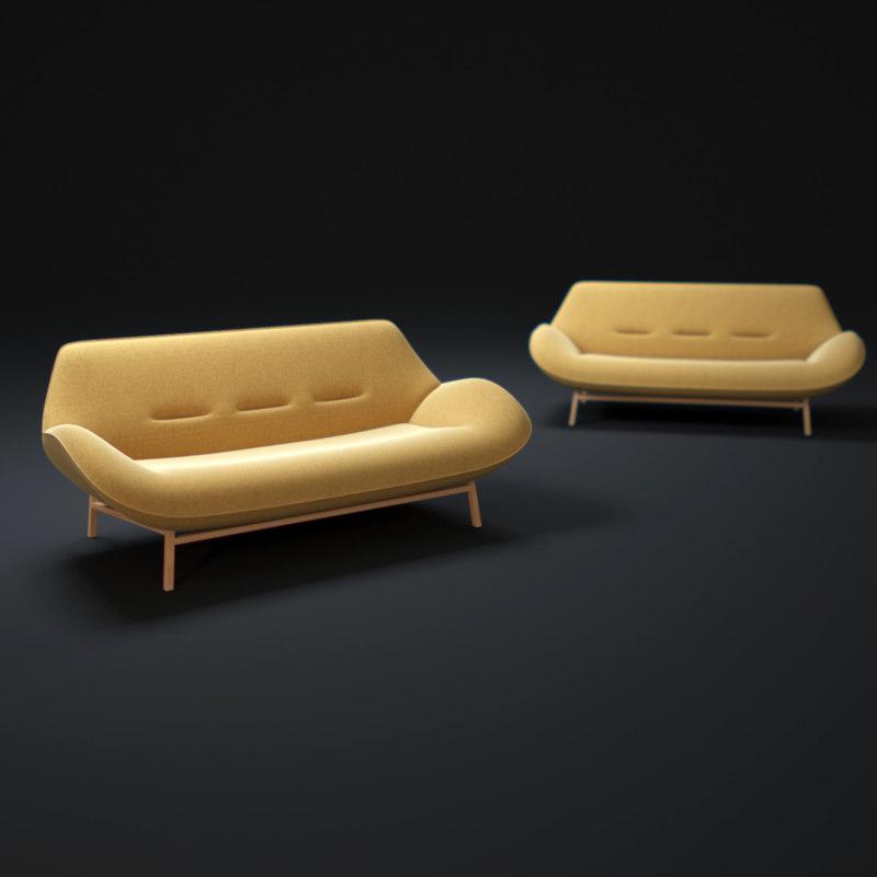 3ds max cosse-sofa