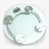 weight scale 2 3d model