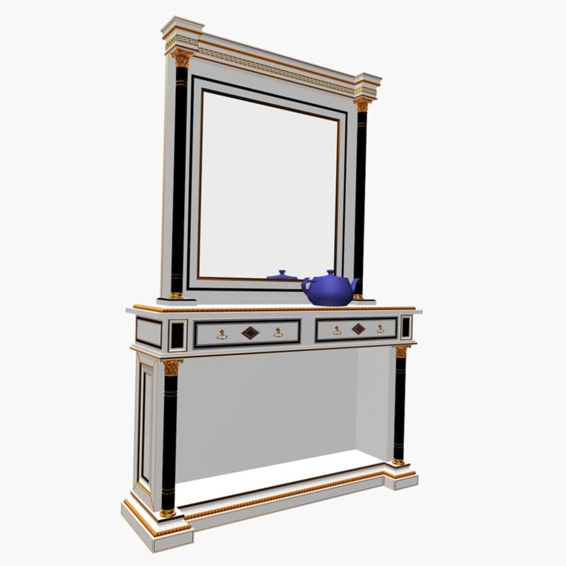 3ds max olimpo console mirror
