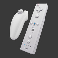 Wii remote and nunchuk