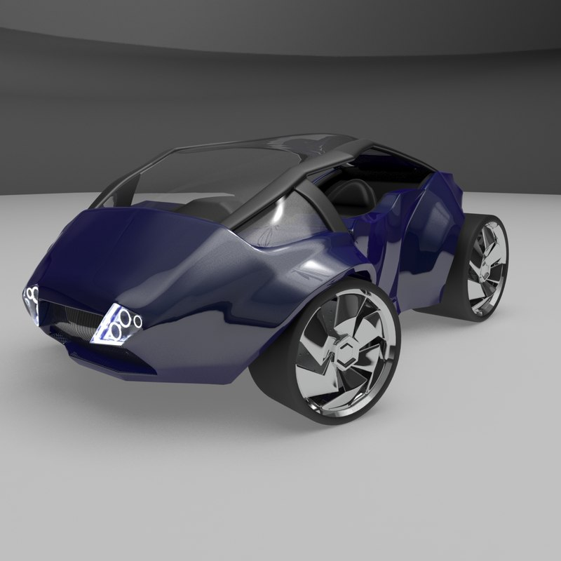 futuristic concept car max