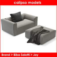 biba salotti joy 3d model