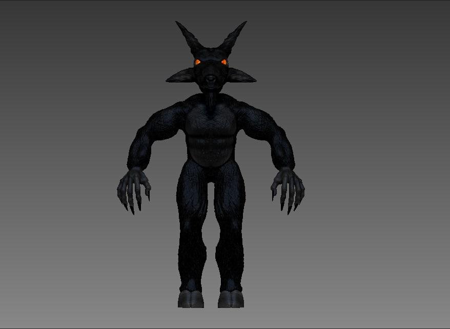 maya black goat