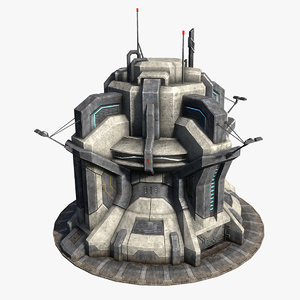 sci-fi structure max