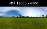 Sport field 360 degree HDR