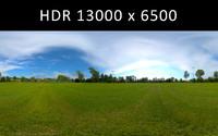 Sport field 360 degree HDR