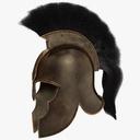 trojan helmet 3D models