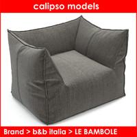 b italia le bambole 3d model