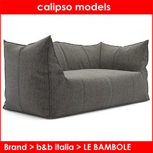b italia le bambole 3d obj
