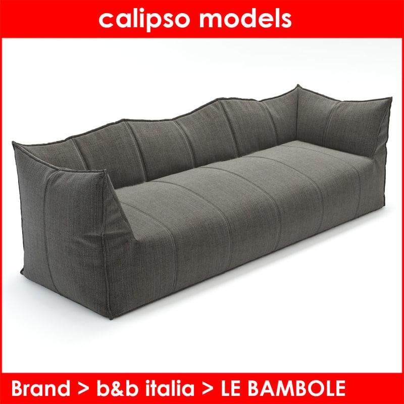 b italia le bambole 3d max