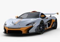 McLaren P1 GTR Concept 2014